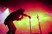 Alice Photo Originals - Alice Cooper Red Cane Crawl  by Christopher  Chouinard