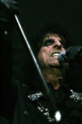 Alice Photo Originals - Alice Cooper with Cane by Christopher  Chouinard