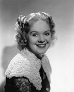 Jt-13 Posters - Alice Faye, 1937 Poster by Everett