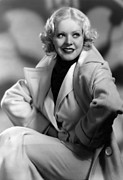 Platinum Blonde Prints - Alice Faye, Fox Film Portrait, Ca Print by Everett