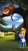 Alice In Wonderland Framed Prints - Alice In Wonderland Framed Print by Paul Lachapelle