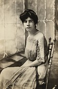 1910s Portrait Posters - Alice Paul 1885-1977, Protested Poster by Everett