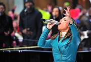Alicia Art - Alicia Keys On Stage For Nbc Today Show by Everett