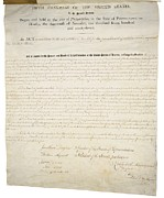 Documents Posters - Alien And Sedition Acts Of 1798 Poster by Everett