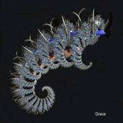 Julie  Grace - Alien Caterpiller