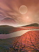 Extrasolar Planet Photos - Alien Landscape by Take 27 Ltd