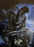Alien Print by Maria Durkin