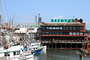 Boat Framed Prints - Alioto.s Restaurant . Fishermans Wharf . San Francisco California . 7D14475 Framed Print by Wingsdomain Art and Photography