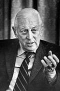 Journalist Framed Prints - Alistair Cooke (1908-2004) Framed Print by Granger