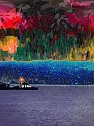 Lighthouse Digital Art - Alki Point by Tim Allen