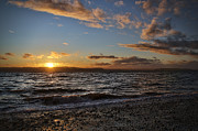 Alki Beach Prints - Alki Sweet Dreams Print by James Heckt