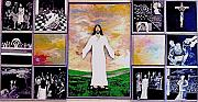 Jesus Reliefs Prints - All - 1 Print by Richard  Hubal