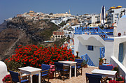 Thelightscene Prints - All About The Greek Lifestyle Print by Bob Christopher