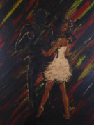 Shadow Dancing Paintings - All About You by Barbara Hayes