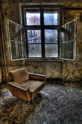Haunted House Photos - All alone by Nathan Wright