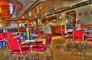 All American Diner 5 Print by Bob Christopher