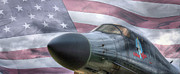 Warbird Photos - All American by JC Findley