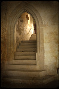 Stone Steps Posters - All Experience is an Arch Poster by Heiko Koehrer-Wagner