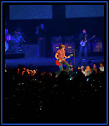 Country Music Keith Urban Posters - All for the Hall Poster by Sheri Bartoszek