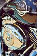 Harley Davidson Road King Motorcycles Photos - All in the Name by Rene Triay
