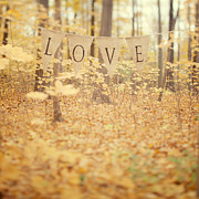 Whimsical Photo Prints - All is Love Print by Irene Suchocki