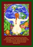 Earth Prints - All of the Earth is sacred Love your Mother Print by Shelley Bain