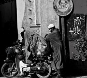 Morocco Metal Prints - All packed Metal Print by Marion Galt