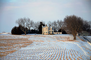 Winter Landscape Photos - All Rows Lead to Home by Christine Belt
