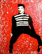 Elvis Presley Painting Originals - All Shook Up by Austin James