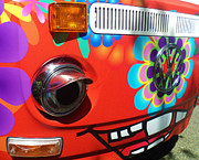 Volkswagen Photos - All Smiles Wagen Volkswagen by Katica Vrhovac