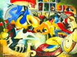 Traditional Art Art - All That Jazz by Elisabeta Hermann