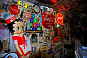 Stickers. Photos - All the Souvenirs of Route 66  by Susanne Van Hulst