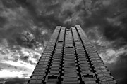 High Rise Framed Prints - All The Way To The Top Framed Print by Kenneth Mucke