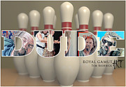 Bowling Alley Prints - All The Way Print by Tom Roderick