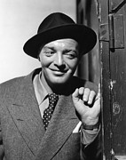 1942 Movies Prints - All Through The Night, Peter Lorre, 1942 Print by Everett