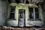 Abandoned Buildings Prints - All Who Enter Print by Emily Stauring
