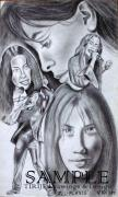 Album Covers Drawings - Allalanis by Rick Hill
