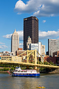 Pittsburgh Pirates Prints - Allegheny Riverfront Print by Emmanuel Panagiotakis