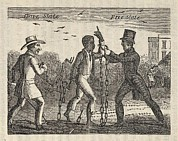 Slavery Photo Prints - Allegorical Illustration Of A Slave's Print by Everett