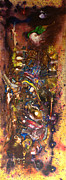 Dramatic Mixed Media Originals - Allegory of early 2008 by Dennis Muraguri