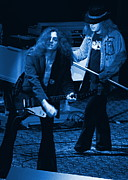 Concert Photos Art - Allen Collins and Ronnie Van Zant Same Old Winterland Blues by Ben Upham