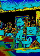 Concert Digital Art - Allen Collins at a Cosmic Day on the Green 2 by Ben Upham