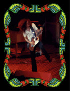 Concert Photos Digital Art - Allen Collins Winterland 2 by Ben Upham