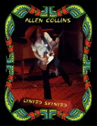 Concert Photos Digital Art - Allen Collins Winterland 3 by Ben Upham