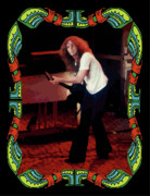 Concert Photos Digital Art - Allen Collins Winterland  by Ben Upham