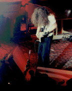 Bong Metal Prints - Allen Collins Winterland Bong 2 Metal Print by Ben Upham