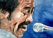 Songwriter Painting Originals - Allen Toussaint by Andrew Gillette