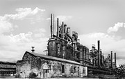Bethlehem Prints - Allentown Old Smokey  Print by Geo Romolo