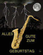 Rhythm And Blues Art - Alles Gute Zum Geburtatag  Sax by Eric Kempson
