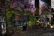 Wesley Allen Photography Photos - Alley Art 11 by Wesley Allen Shaw